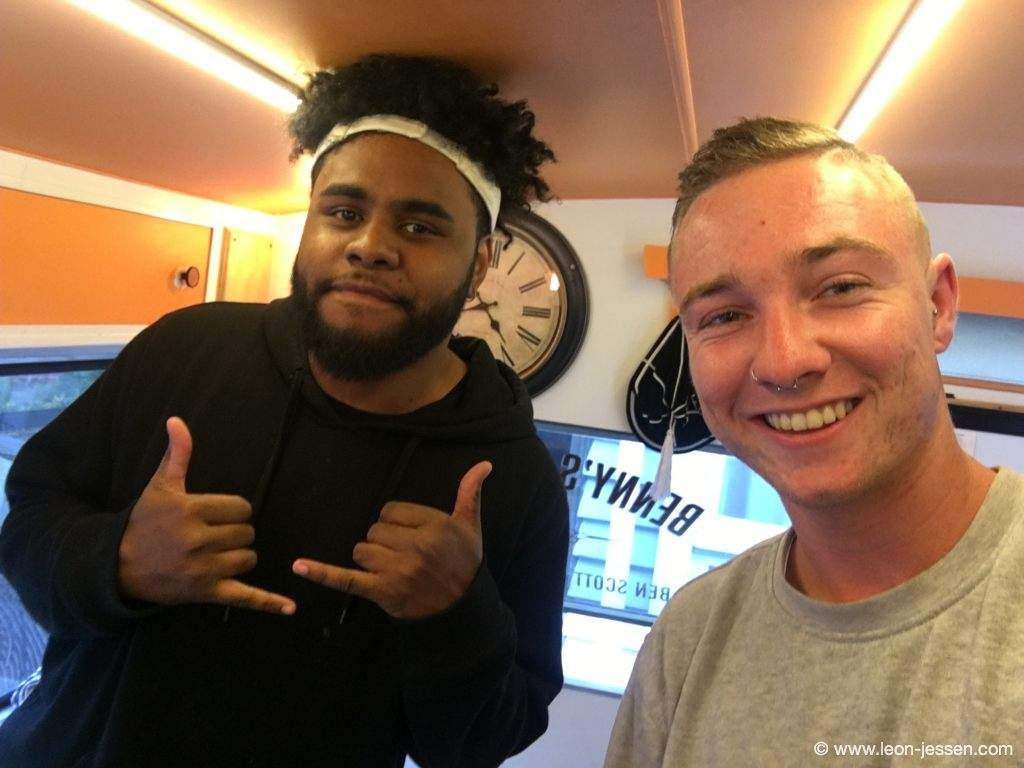 The best Barber in New Zealand? For me thats Leslie.